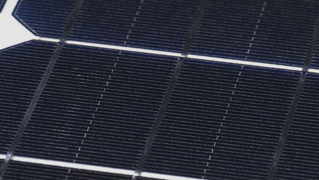 Texture of the surface of a solar panel