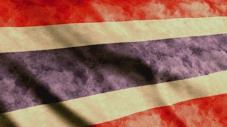 Thailand Flag, 3D