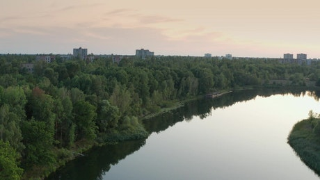 The abandoned town of Pripyat