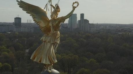 The Berlin Victory Column Golden Statue