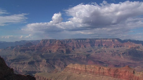 Time lapse of the Grand Canyon scenery