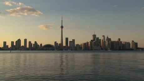 Time-lapse of the Toronto Skyline