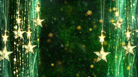 Title background animation with christmas concept