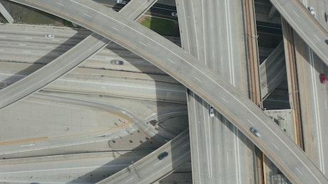 Top shot of the Judge Pregerson Huge Highway