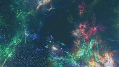 Touring the bright multicolored cosmos