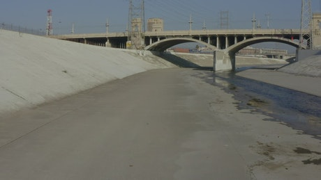 Touring the great water canal in Los Angeles