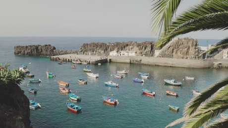Tourist coastal city