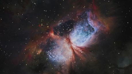 Traversing the nebula galaxy