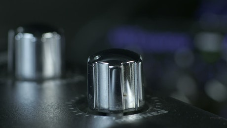 Turning a silver dial