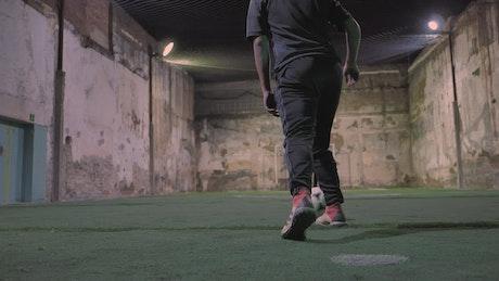 Urban football training