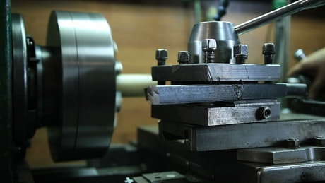 Using a powered Lathe