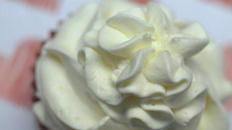 Valentine's Day dessert cupcake