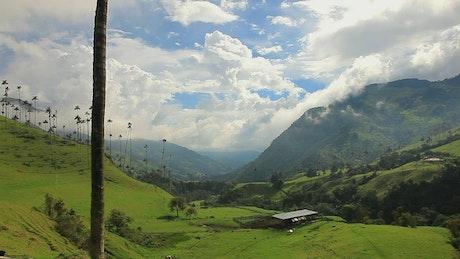 Valley, landscape