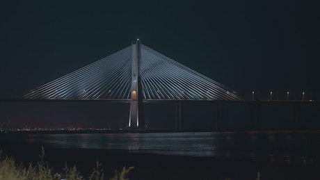 Vasco Da Gama Bridge in Portugal