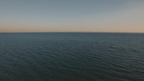 Vast ocean with no boat traffic