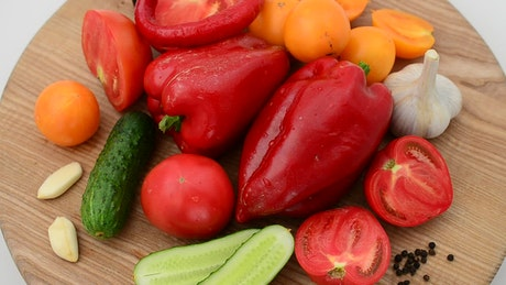 Vegetables for seasoning