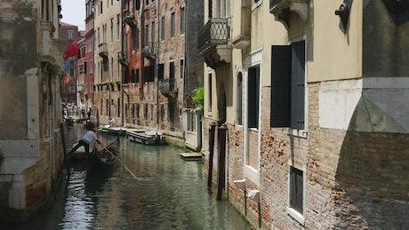 Venice canal landscape