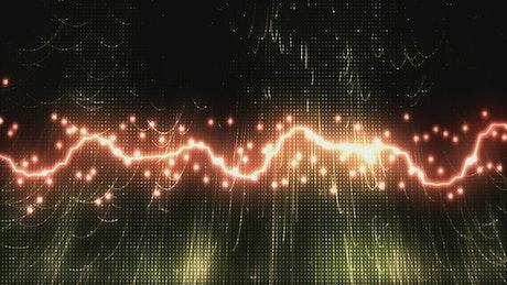 Vibrant sound waves, virtual