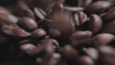 Video sequence of the coffee preparation process