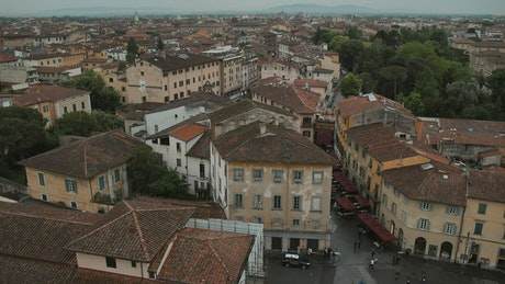 View from the Tower of Pisa