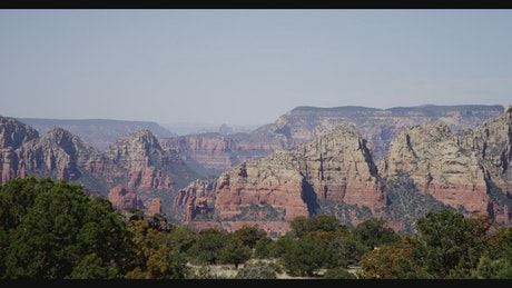 View of the Stone Hills of Sedona