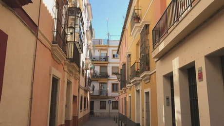 Walking through the streets of Seville