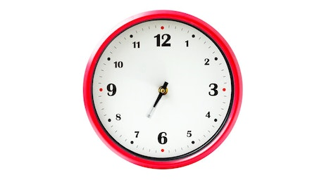 Wall clock going fast in time
