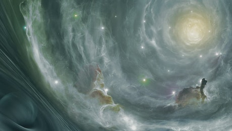 Way to heaven in the cosmos