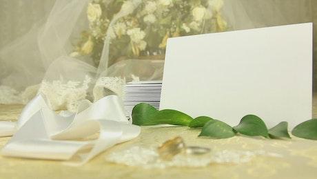 Wedding stuff, background video