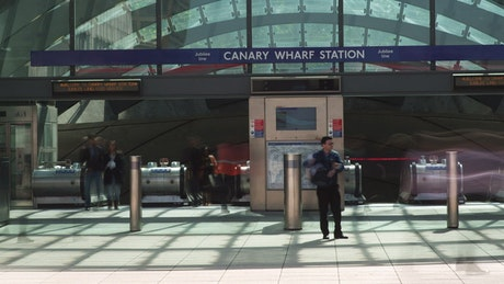 Wharf station