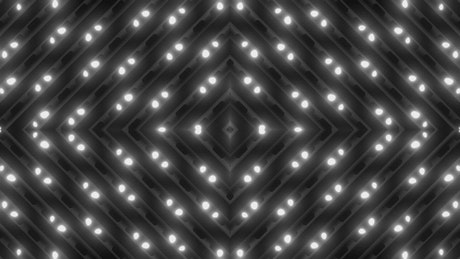 White dots of light moving