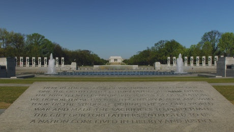 World War 2 Memorial in the USA