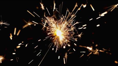 Yellow sparklers