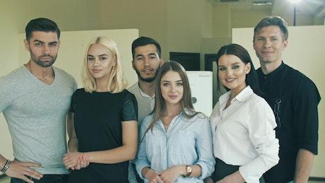 Young entrepreneurs, portrait